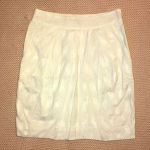 The Limited white pencil skirt XS